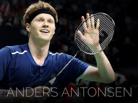 Badminton video from Anders Antonsen