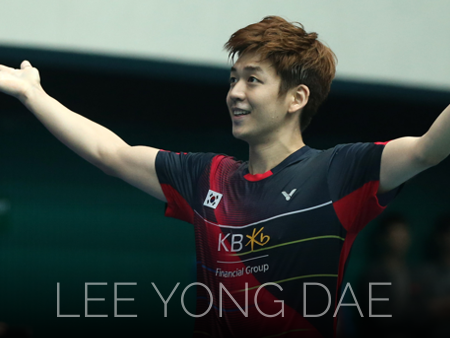 Badminton video from Lee Yong Dae