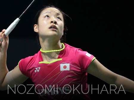 Badminton video from Nozomi Okuhara