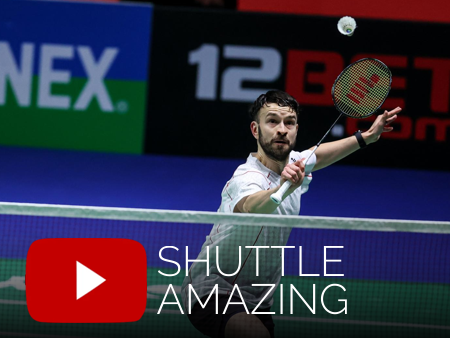 Badminton video from Shuttle Amazing
