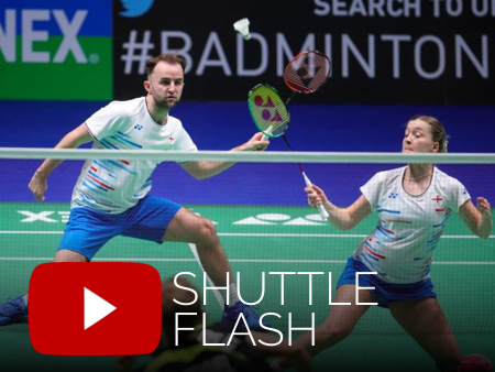 Badminton video from Shuttle Flash