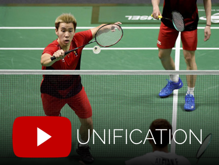 Badminton video from Unification