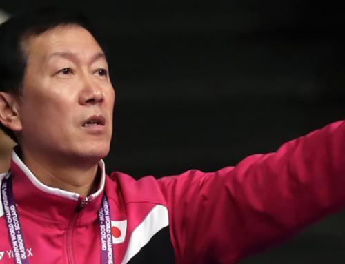 Park Joo-Bong's shots for level doubles